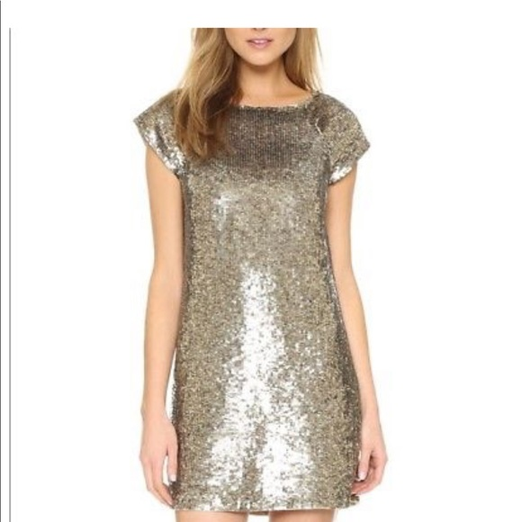Alice + Olivia Dresses & Skirts - AILICE AND OLIVIA SEQUINED  Sherry Dress NWT S